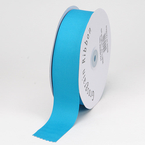 Grosgrain Ribbon Matte Finish Turquoise ( 1/4 inch | 50 Yards ) -