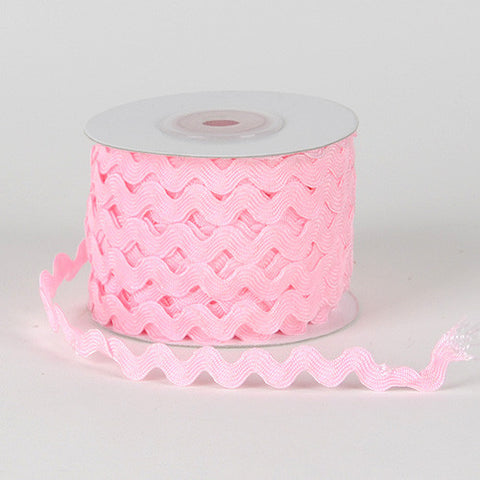 Ric Rac Trim Light Pink ( 5mm - 25 Yards ) -