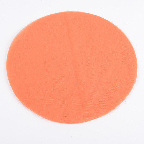 Premium Tulle Circle Orange ( 9 inch | 25 Pieces ) -