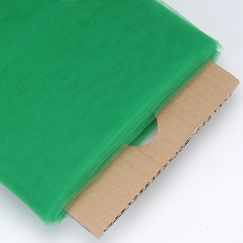 Emerald 54 Inch Premium Tulle Fabric Bolt ( W: 54 inch | L: 40 Yards ) -