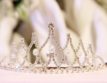 Wedding Tiara Silver ( Unisize ) -