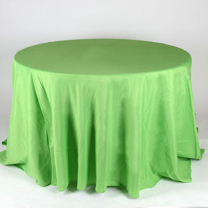 Apple Green 108 Inch Round Tablecloths  ( 108 inch | Round )- Ribbons Cheap