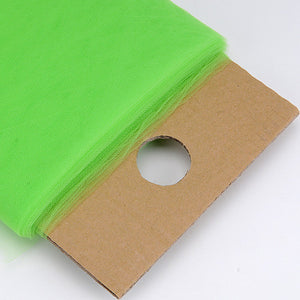Apple Green 54 Inch Premium Tulle Fabric Bolt ( W: 54 inch | L: 40 Yards ) - Ribbons Cheap
