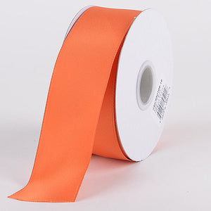 Satin Ribbon Double Face Orange ( W: 5/8 inch | L: 25 Yards ) -