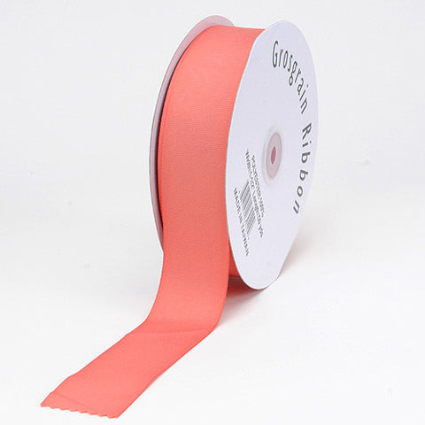 Grosgrain Ribbon Matte Finish Dusty Rose ( 1/4 inch | 50 Yards ) -