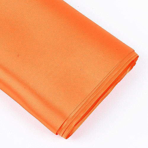 Premium Satin Fabric Orange ( W: 60 inch | L: 10 Yards ) -