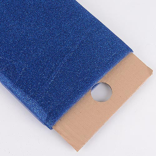Navy Blue Premium Glitter Tulle Fabric ( 54 inch | 10 Yards ) -