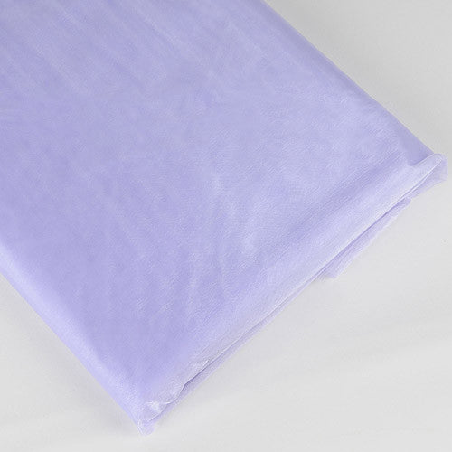 Organza Fabric Bolt (10 Yards) Lavender -