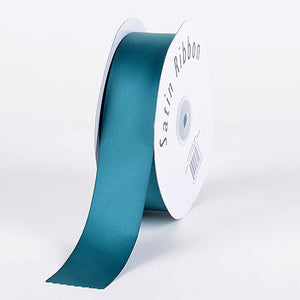 Satin Ribbon Single Face Jade ( W: 3/8 inch | L: 100 Yards ) -