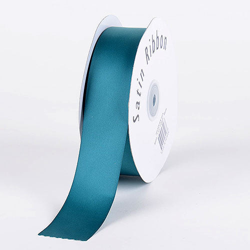 Satin Ribbon Single Face Jade ( W: 3/8 inch | L: 100 Yards )
