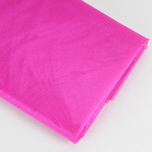 Organza Fabric Bolt (10 Yards) Fuchsia -