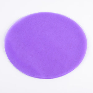 Premium Tulle Circle Purple ( 9 inch | 25 Pieces ) -