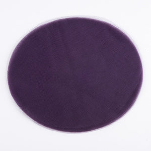 Premium Tulle Circle Plum ( 12 inch | 25 Pieces ) -
