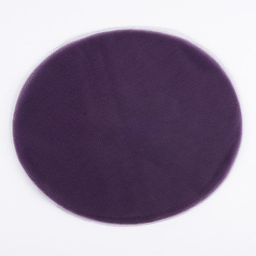 Premium Tulle Circle Plum ( 12 inch | 25 Pieces )