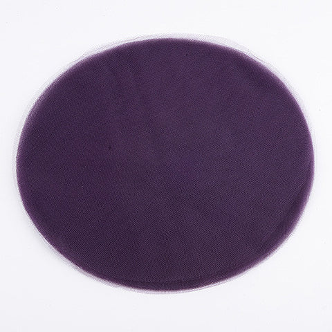 Premium Tulle Circle Plum ( 9 inch | 25 Pieces ) -
