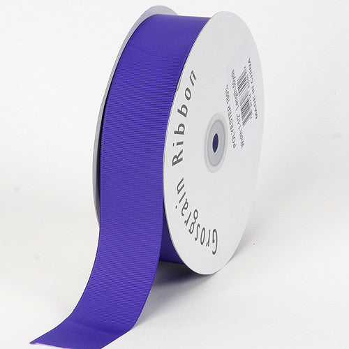 Grosgrain Ribbon Solid Color Purple Haze ( W: 7/8 inch | L: 50 Yards ) -