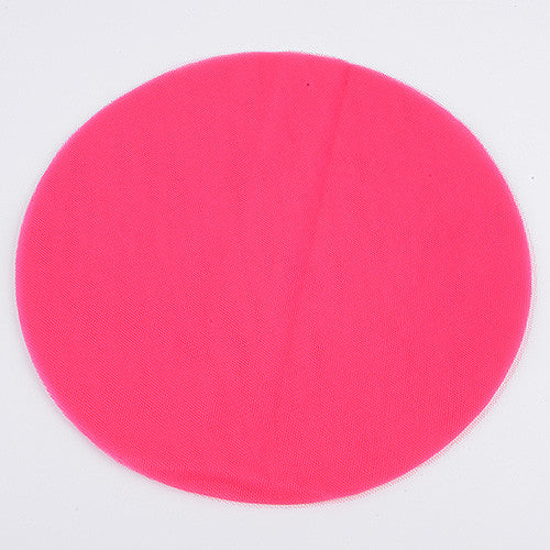 Premium Tulle Circle Fuchsia ( 9 inch | 25 Pieces ) -