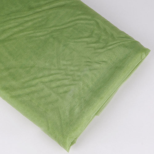 Organza Fabric Bolt (10 Yards) Spring Moss
