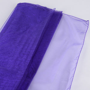 Wedding Organza Fabric Decor Purple ( W: 28 inch | L: 216 Inches ) -