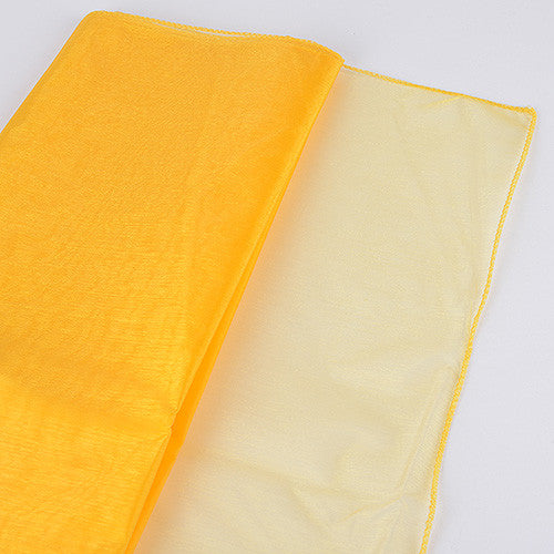 Wedding Organza Fabric Decor Daffodil ( W: 28 inch | L: 216 Inches ) -