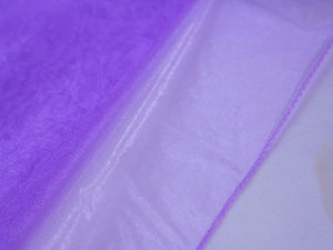 Wedding Organza Fabric Decor Orchid ( W: 28 inch | L: 216 Inches ) -
