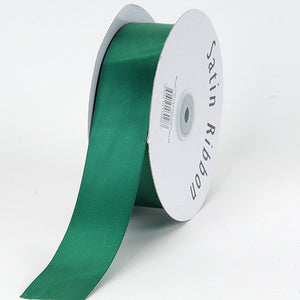 Satin Ribbon Single Face Hunter Green ( 5/8 inch | 100 Yards ) -