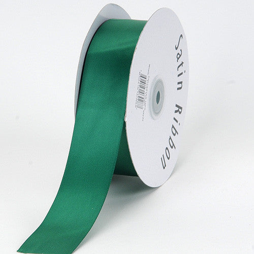 Satin Ribbon Single Face Hunter Green ( 5/8 inch | 100 Yards )