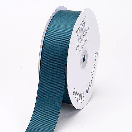 Grosgrain Ribbon Solid Color Teal ( W: 3/8 inch | L: 50 Yards ) -