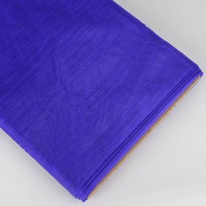 Organza Fabric Bolt (10 Yards) Purple -