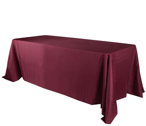 Burgundy 60 x 126 Rectangle Tablecloths  ( 60 inch x 126 inch )- Ribbons Cheap