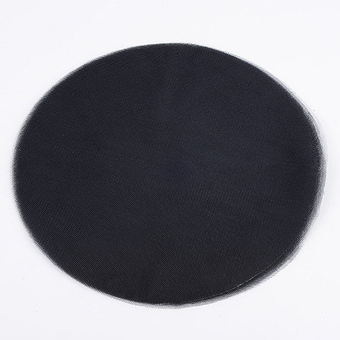Premium Tulle Circle Black ( 12 inch | 25 Pieces ) -