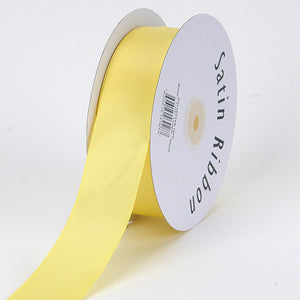 Satin Ribbon Single Face Canary ( 2 inch | 50 Yards ) -