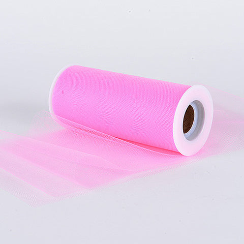 Paris Pink Premium Tulle Fabric ( 6 inch | 25 Yards ) -