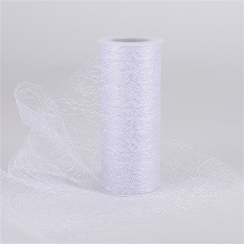 Sisal Mesh Wrap Rolls White ( 6 Inch x 10 Yards )