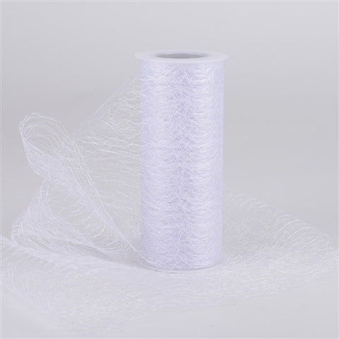 Sisal Mesh Wrap Rolls White ( 6 Inch x 10 Yards ) -