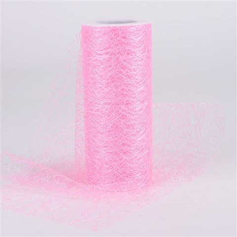 Sisal Mesh Wrap Rolls Light Pink ( 6 x 10 Yards ) -