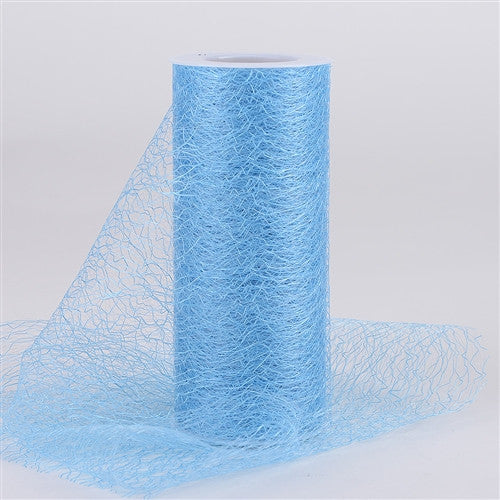 Sisal Mesh Wrap Rolls Light Blue ( 6 x 10 Yards ) -