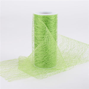 Sisal Mesh Wrap Rolls Apple Green ( 6 x 10 Yards ) -