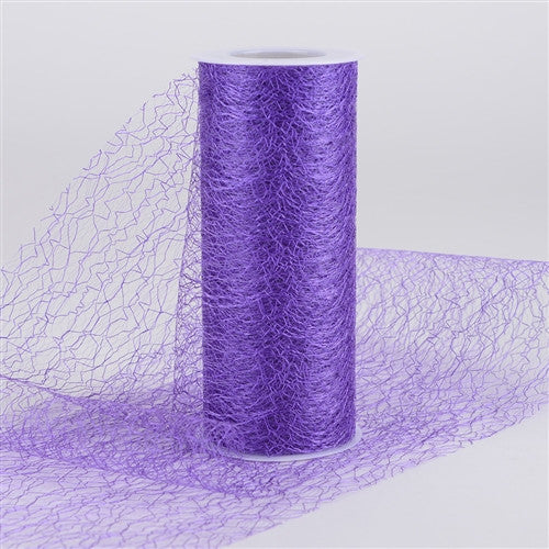 Sisal Mesh Wrap Rolls Purple ( 6 x 10 Yards ) -