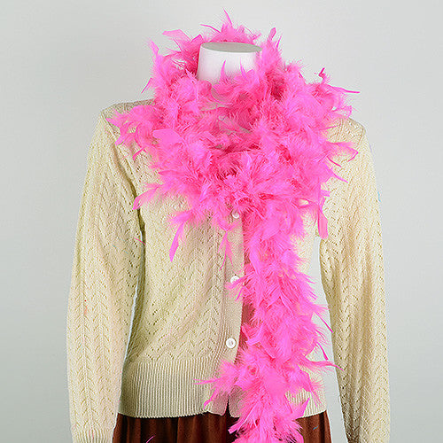 Feather Boas Fuchsia ( 2 Yards Boa )