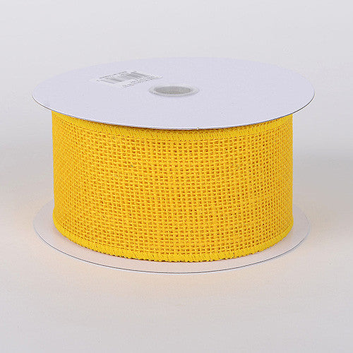 Burlap Ribbon Daffodil ( W: 1-1/2 inch | L: 10 Yards )