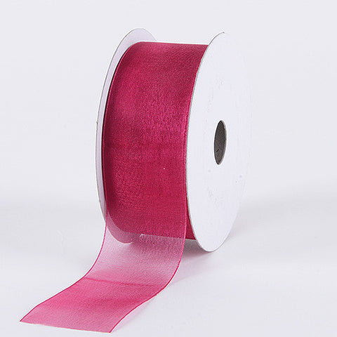Sheer Organza Ribbon Beauty ( W: 3/8 inch | L: 25 Yards ) -