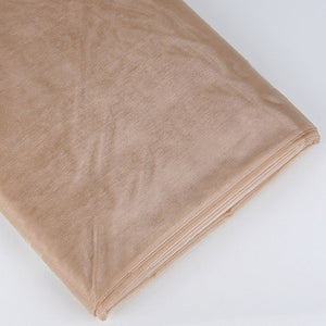 Organza Fabric Bolt (10 Yards) Toffee -