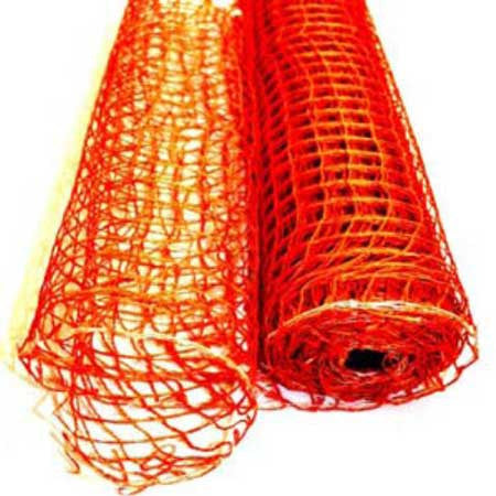 Natural Jute Mesh Orange ( 21 Inch x 6 Yards )