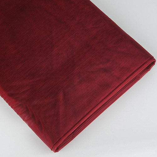 Organza Fabric Bolt (10 Yards) Burgundy -