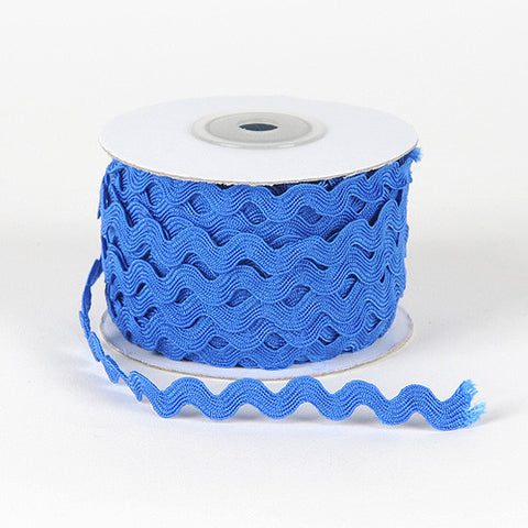 Ric Rac Trim Royal Blue ( 5mm - 25 Yards ) -