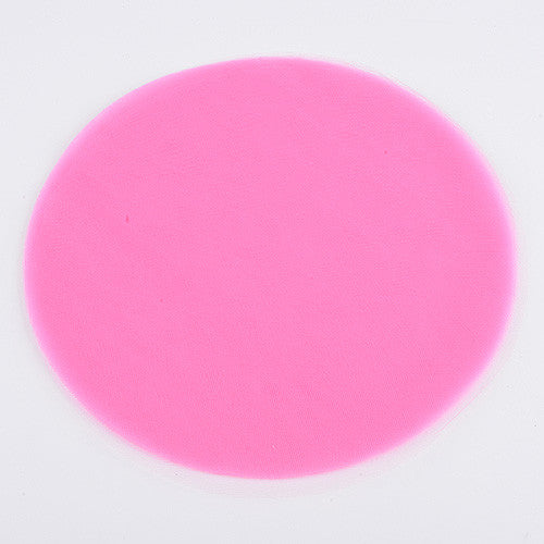 Premium Tulle Circle Shocking Pink ( W: 9 inch | L: 25 Pieces ) -