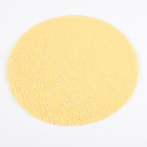 Premium Tulle Circle Yellow ( 12 inch | 25 Pieces )