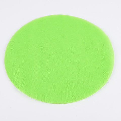 Premium Tulle Circle Apple Green ( 12 inch | 25 Pieces ) -