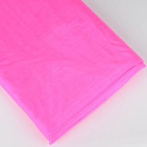 Organza Fabric Bolt (10 Yards) Shocking Pink -